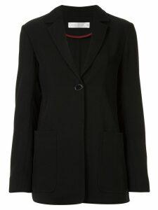 Victoria Beckham soft longline blazer - Black