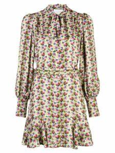 Alexis Mirene geometric-print dress - Green