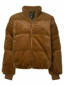 Stine Goya Aria faux fur jacket - Brown