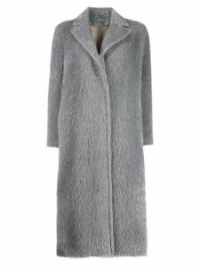Alberta Ferretti oversized classic coat - Grey