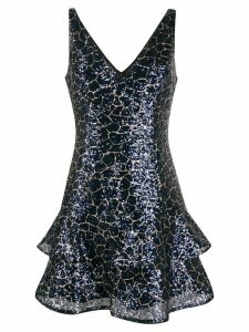 Paule Ka embellished V-neck dress - Blue