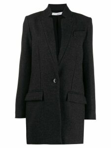 Iro notched collar blazer - Grey