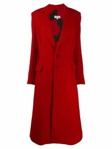 Palomo Spain longline coat - Red