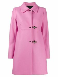 Fay clasp fastened coat - PINK