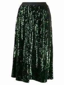 Bellerose sequin-embellished midi skirt - Green