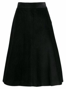 M Missoni A-line knitted skirt - Black