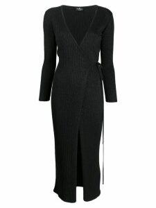 Elisabetta Franchi V-neck stretch dress - Black