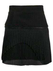 Diesel Black Gold zipped pleated skirt