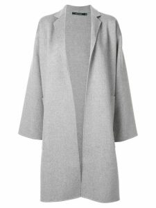 Sofie D'hoore oversized open front coat - Grey