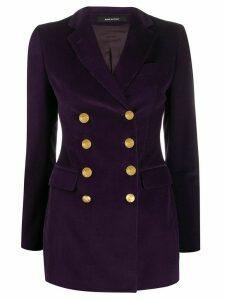 Tagliatore corduroy blazer - Purple
