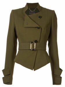 Ginger & Smart Advocate belted jacket - Green