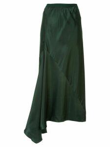 Ginger & Smart Sonorous asymmetric skirt - Green