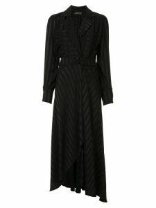 Ginger & Smart Nemesis wrap dress - Black