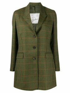 Giuliva Heritage Collection The Karen checked blazer - Green
