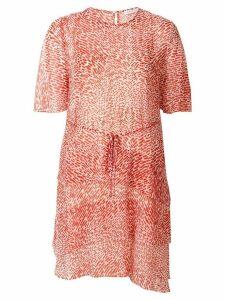 CAMILLA AND MARC Alghero print shift dress - Red