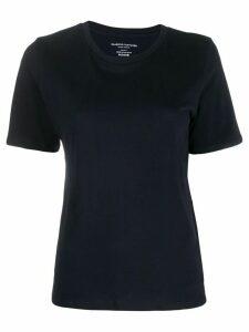 Majestic Filatures plain knitted T-shirt - Blue