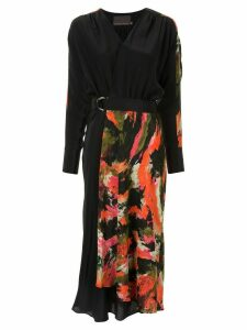 Ginger & Smart Elysian wrap dress - Black