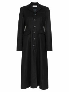 Molly Goddard Karolina single-breasted coat - Blue