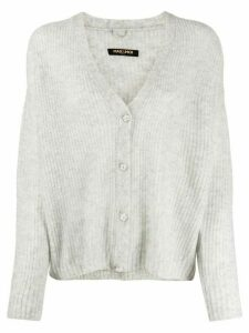 Max & Moi intarsia knit cardigan - Grey