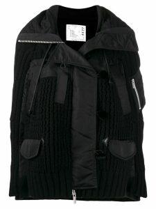 Sacai utility jacket - Black