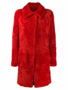 Sylvie Schimmel single breasted coat - Red