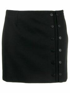 Artica Arbox buttoned mini skirt - Black
