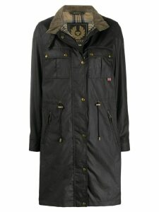 Belstaff Cottle press-stud parka coat - Black