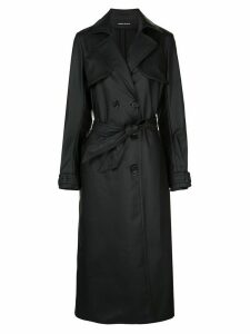Kwaidan Editions matte trench coat - Black