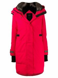 Canada Goose padded parka coat - Red