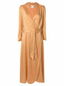 Forte Forte Cloquet silk dress - Neutrals