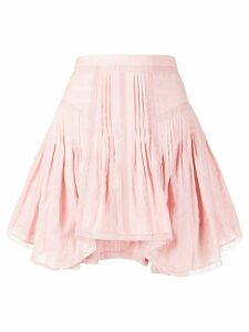 Isabel Marant Étoile pleated short skirt - Pink