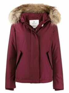 Woolrich short Arctic parka coat - Red
