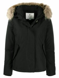 Woolrich short Arctic parka coat - Black