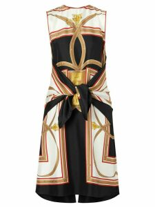 Burberry Archive Scarf print dress - Black