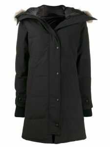 Canada Goose padded parka coat - Black