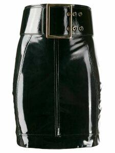 Elisabetta Franchi belted mini skirt - Black