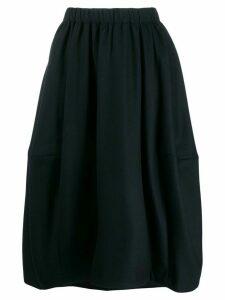 Comme Des Garçons Comme Des Garçons panelled midi skirt - Blue
