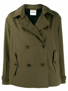 Aspesi Mousse double-breasted jacket - Green
