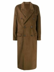Rokh oversized corduroy coat - Brown
