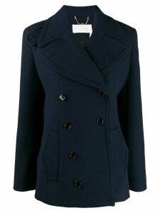 Chloé tailored pea coat - Blue