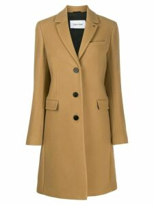 Calvin Klein single breasted coat - Neutrals