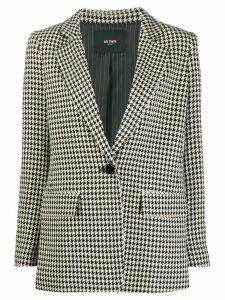 Twin-Set houndstooth print blazer - Neutrals