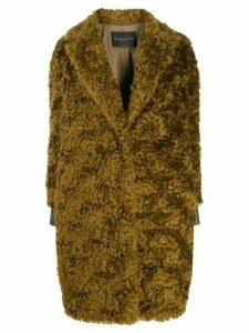 Fabiana Filippi oversized knit coat - Brown