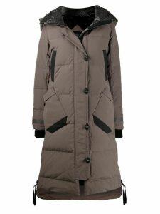 Canada Goose padded parka coat - Grey