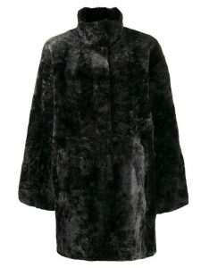 Drome mid-length coat - Black