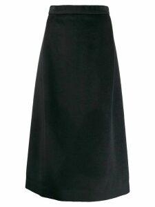 Stephan Schneider a-line midi skirt - Blue