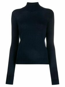 Theory knitted turtle neck top - Blue
