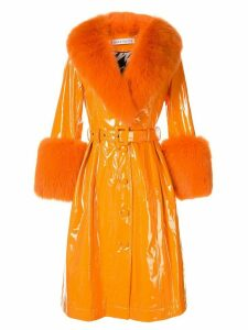 Saks Potts gloss finished coat - Orange