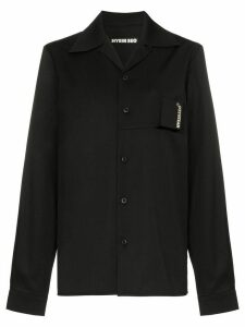 Hyein Seo Smoker's button-down shirt - Black