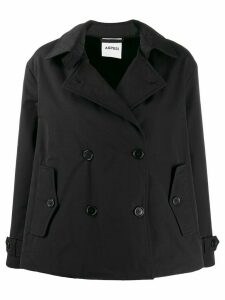 Aspesi Mousse pea coat - Black